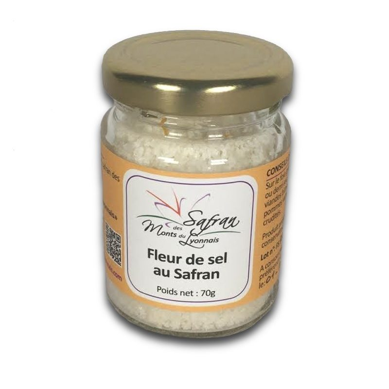 Fleur de sel de l'île de Ré au safran