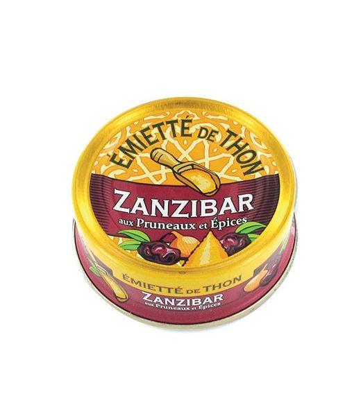 Emietté de thon Zanzibar (épices et pruneaux)