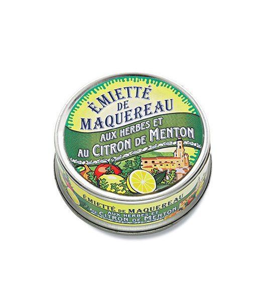 Emietté de maquereaux aux herbes et au citron de Menton