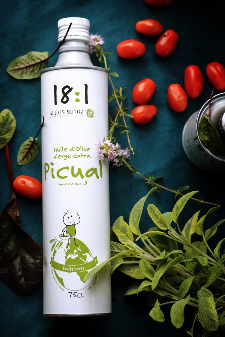 huile d'olive vierge extra Picual 75 cl