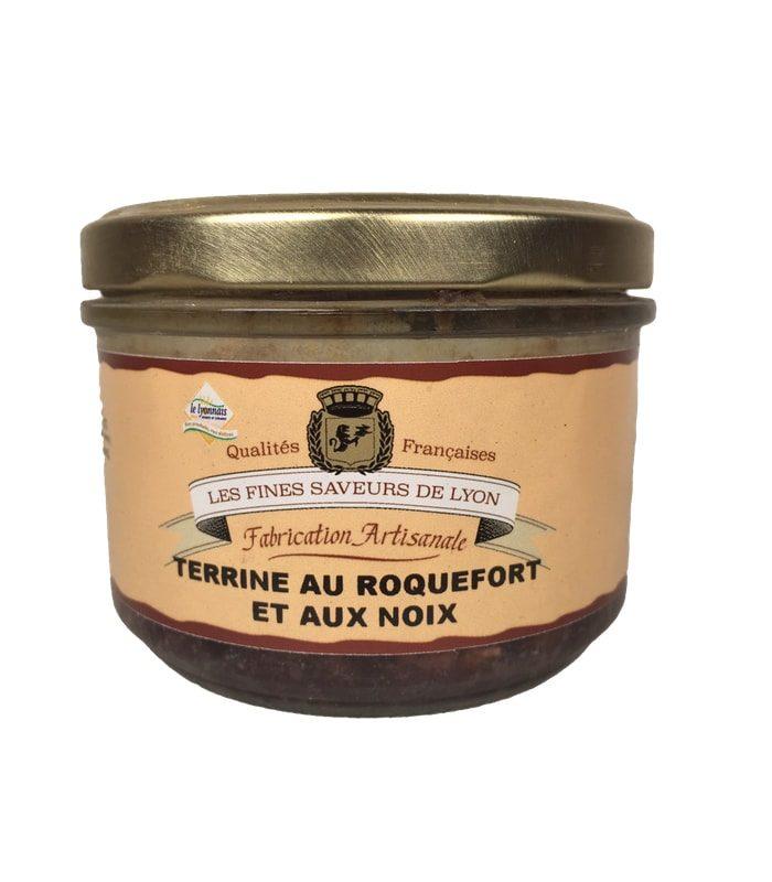 Terrine au Roquefort et aux noix