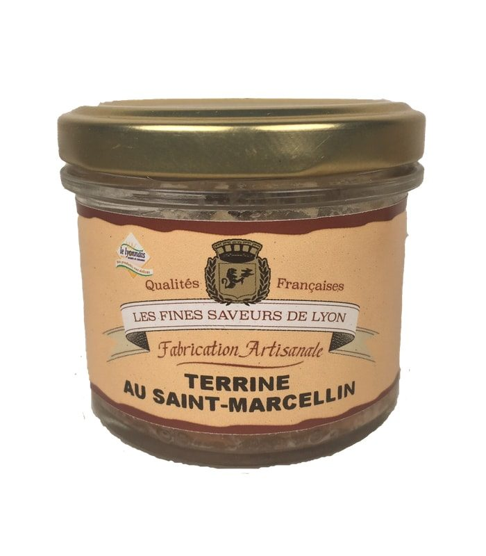 Terrine au Saint Marcelin 90 g