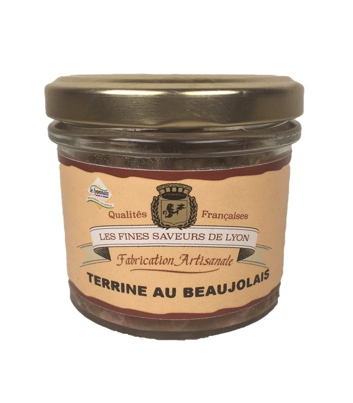 Terrine au beaujolais 90 g