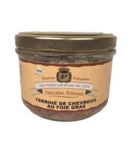 Terrine de chevreuil au fois gras