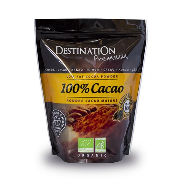 cacao en poudre bio maigre et sans sucre ajouté