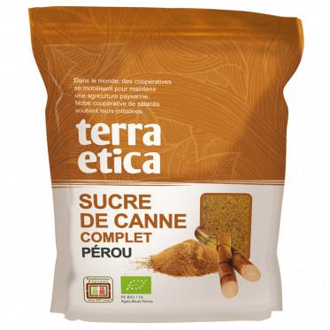 sucre-complet-de-canne-terra-etica-origine-perou-poche-500-gr