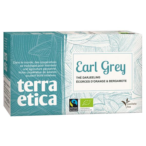 thé earl grey bio sachets